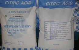 اسید سیتریک خشک باکیفیت