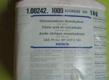 اسید سیتریک مرک