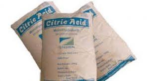تولیدبهترین اسیدسیتریک خشک